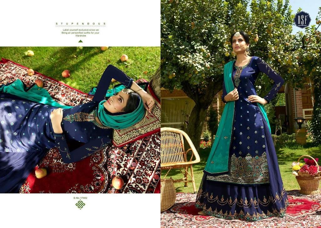 Zoha Rsf Riddhi Siddhi Fashion Designer Dress Material Manufacturer Wholesaler