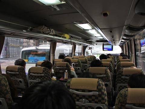 JR九州バス「B&Sみやざき」 4063 乗車当日の車内の様子