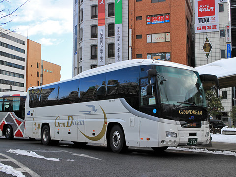 西日本JRバス「百万石ドリーム政宗号」 641-4935