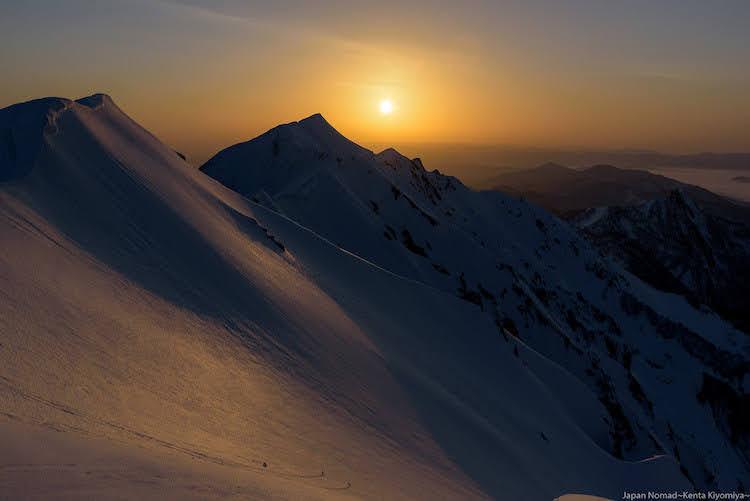 伯耆大山 雪山登山~中国地方最高峰からご来光を望む~