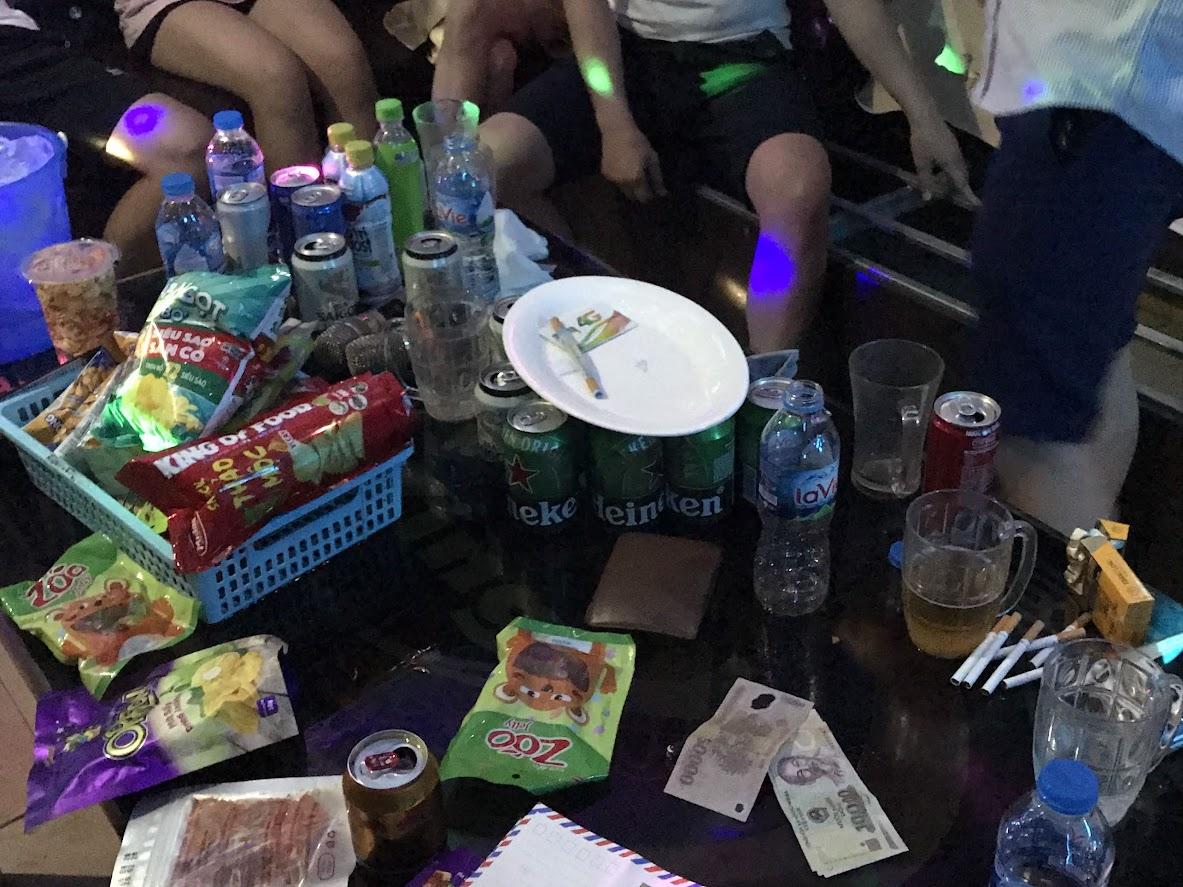 Số ma túy thu giữ tại hiện trường