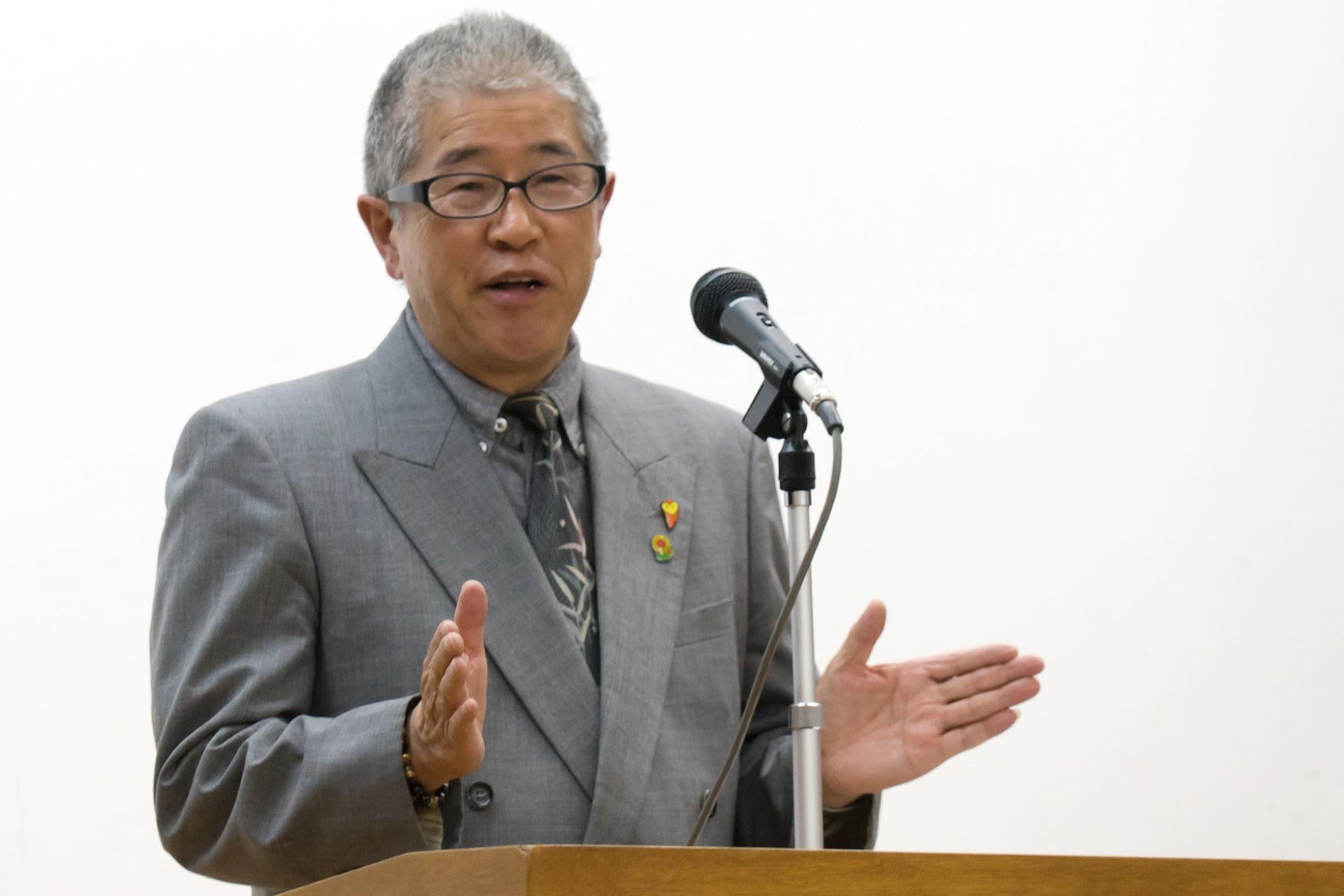 【北竜町ポータル・特集記事】講師を務める干場さん
