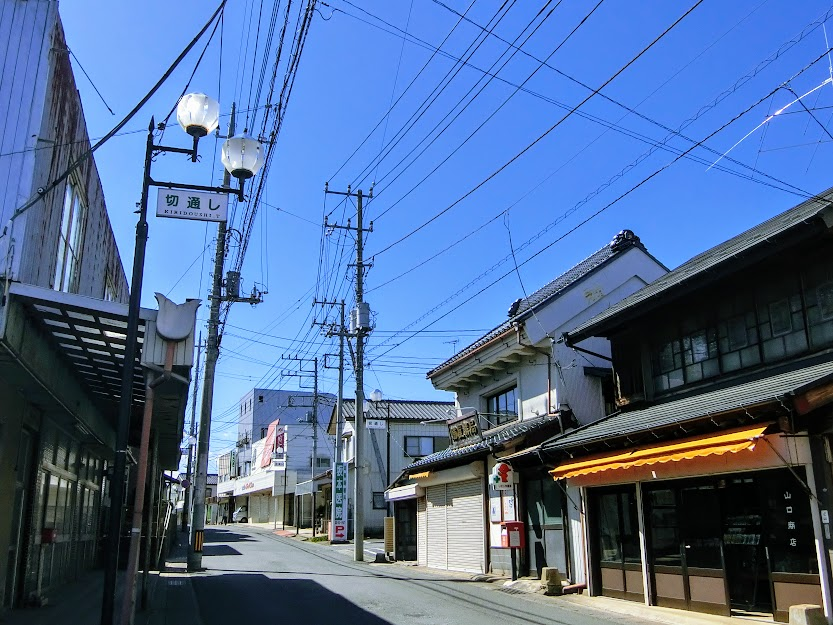 利根川水運の隆盛を物語る鉄道空白地の町『江戸崎』