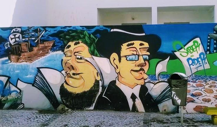 arte urbana Barreiro