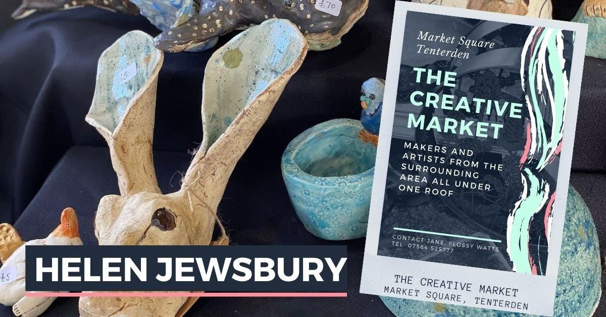 HELEN JEWSBURY at Tenterden Creative Market