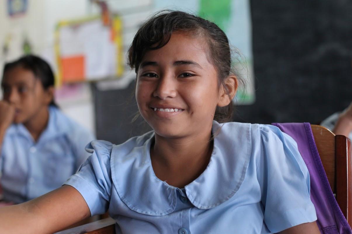 BSCFA,študentka z Belize. Foto: James A. Rodriguez.