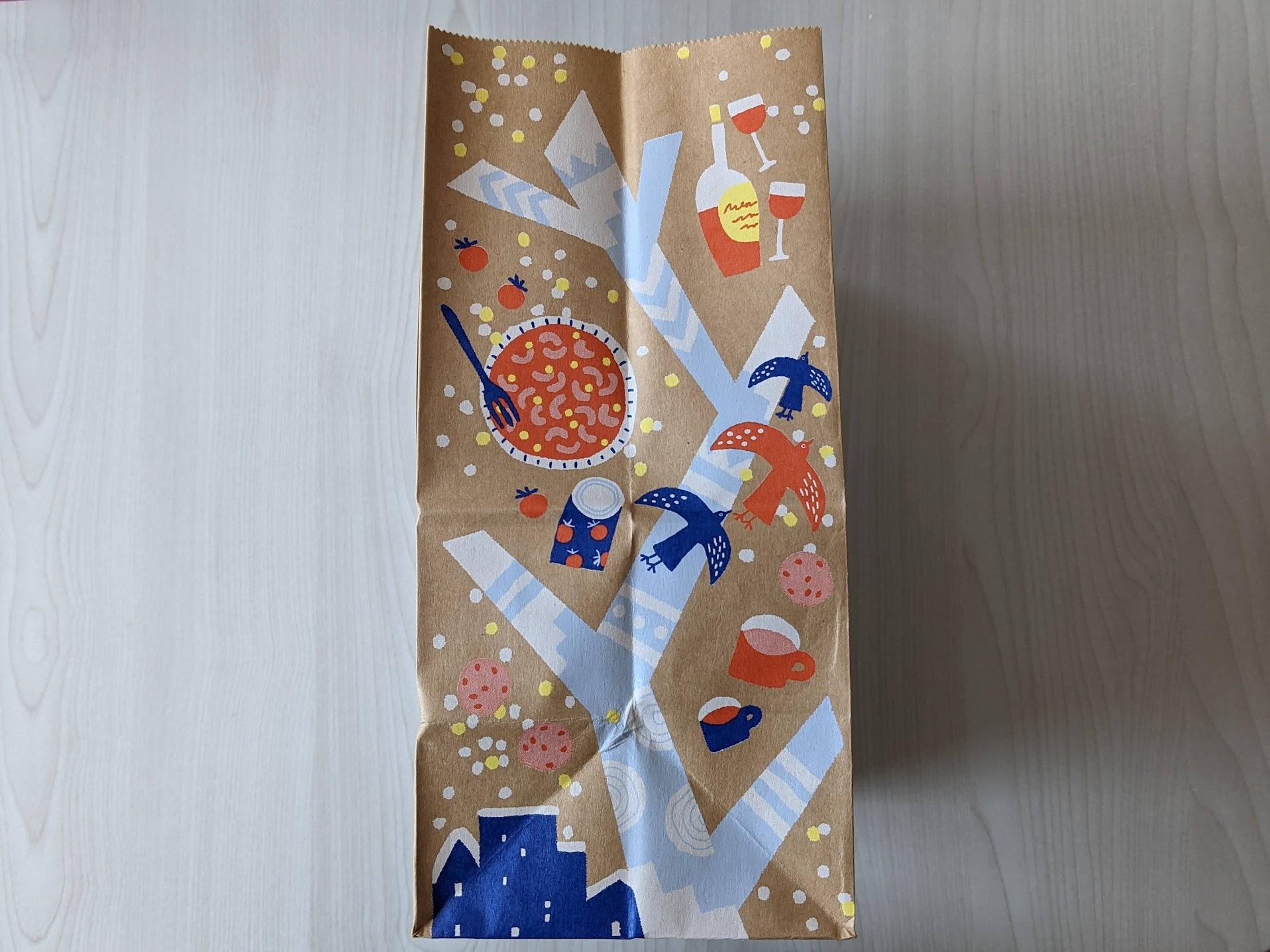 カルディ オリジナル紙袋 2020ウィンター柄