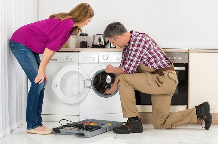 Máy giặt đang giặt bị dừng đột ngột, nguyên nhân và cách khắc phục