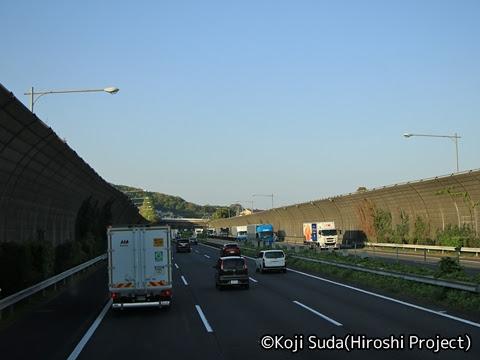JRバス関東「グラン昼特急8号」 ・・12 2階 最前席からの眺望_16
