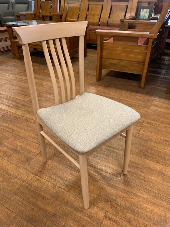 K-799-49 斜泓洗白木餐椅