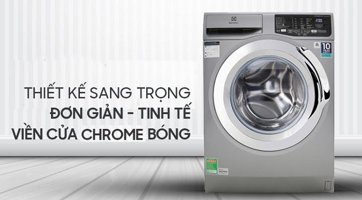 Ưu điểm của máy giặt cửa trước về thiết kế