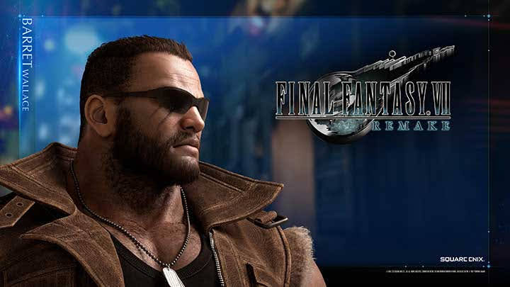 Barret Wallace trong FF7 Remake