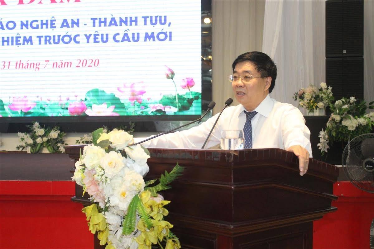 Đồng chí Nguyễn Văn Thông, Phó Bí thư Tỉnh ủy ghi nhận, đánh giá cao những kết quả nổi bật của ngành Tuyên giáo