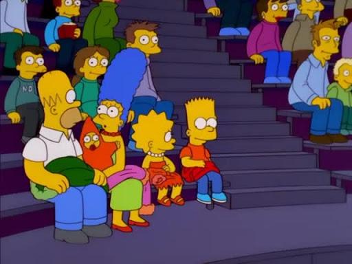 Los Simpsons 12x08 Skinner cubierto por la nieve
