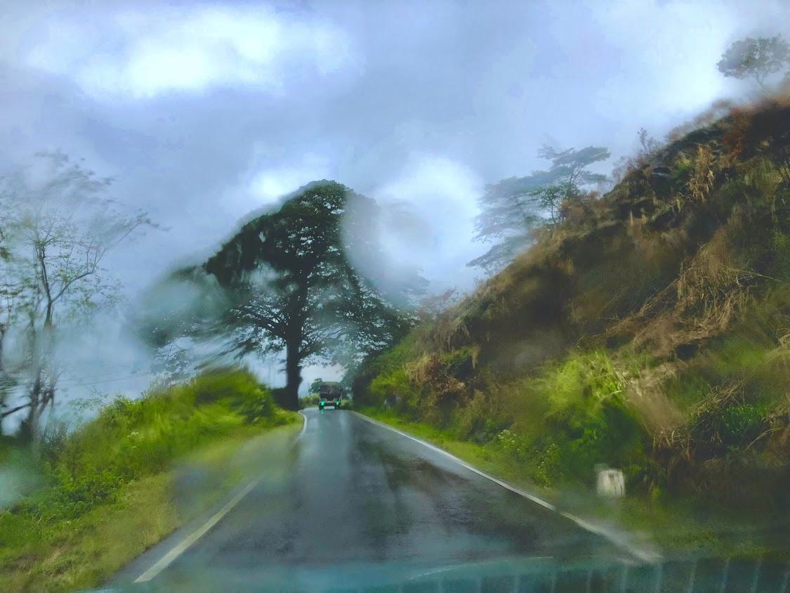 Diyaluma Waterfall In Sri Lanka