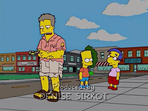 Los Simpsons 16x10 El amor es ciego