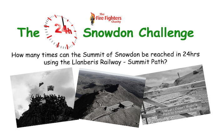 Dave heads up Snowdon - as many times in aid of charity