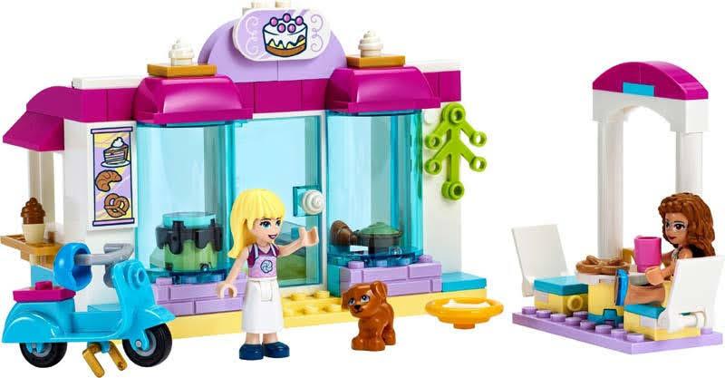 Contenido de Lego® 41440 Pastelería de Heartlake City