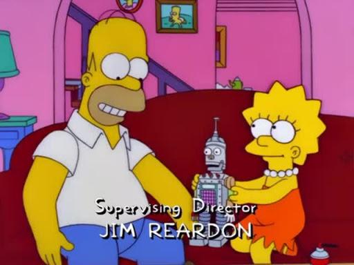 Los Simpsons 12x18 Trilogía del error