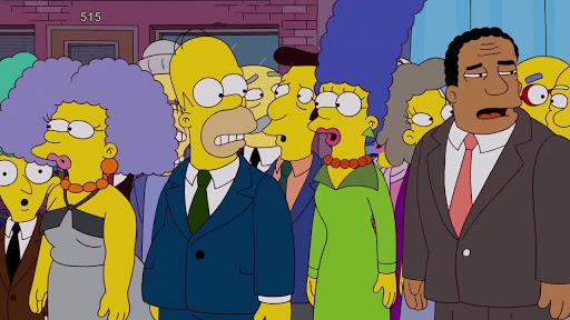 Los Simpsons 24x01 Río de Aguardiente