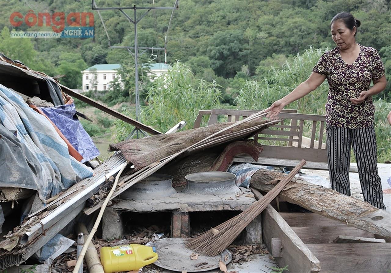 Bà Vinh mất đất, mất nhà vì thủy điện