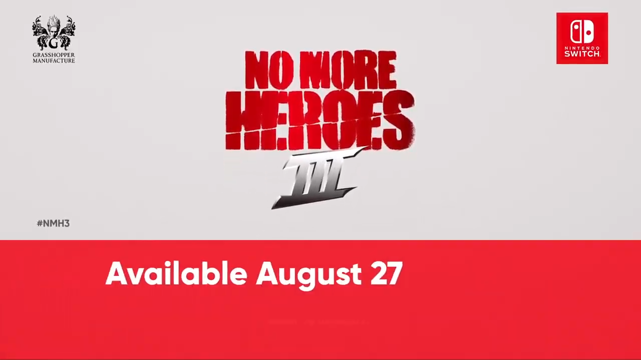 No More Heroes 3 Gets A New Release Date