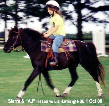 Sierra rides AJ