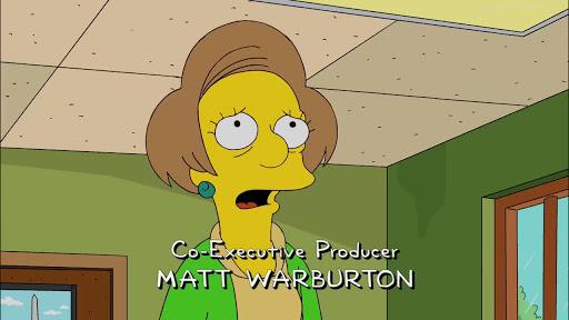Los Simpsons 21x14 Postales de la controversia