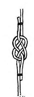 Hawser Bend or Carrick Bend