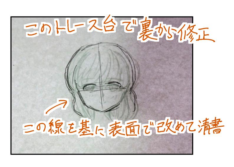 漫画:トレース台