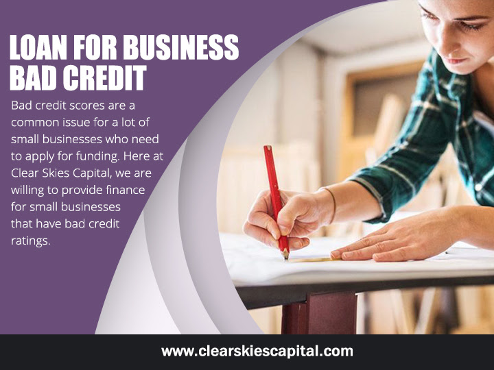 Loans for business with bad credit