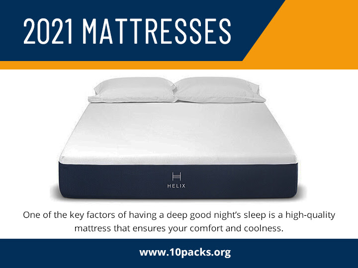 Best Online Mattress 2021 10packs