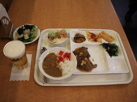 太平洋フェリー 新「きたかみ」 7デッキ レストラン「グリーンプラネット」_05 夕食