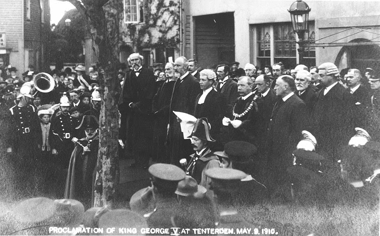 Proclamation of King George V at Tenterden 9 May 1910