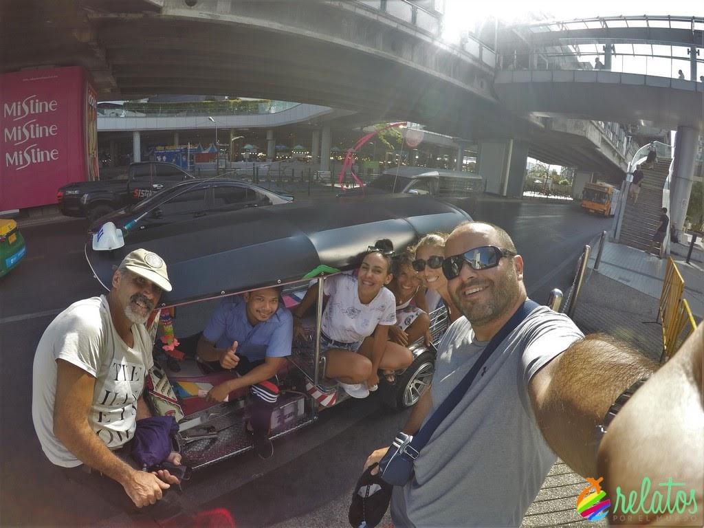 tuc tuc en Bangkok