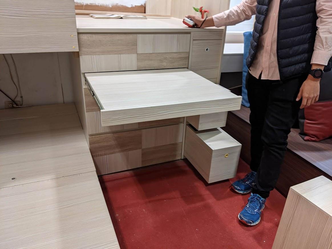 添興家具 中永和家具行 超大收納空間上下舖床架