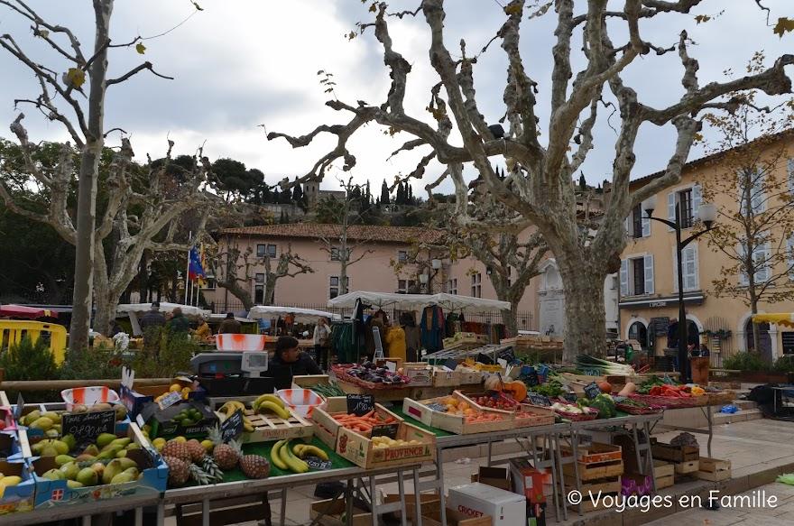 Cassis, place Clémenceau