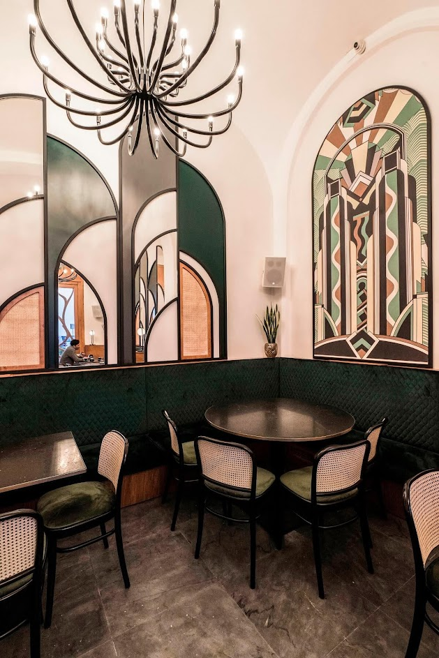 trang trí quán cà phê đẹp