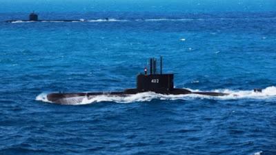 Kapal Selam KRI Nanggala-402 dikabarkan hilang di Perairan Bali
