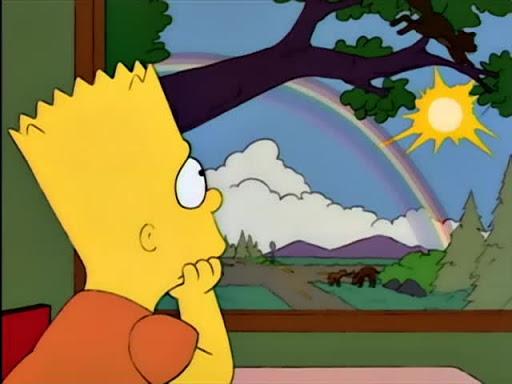 Los Simpsons 5x20 El nino que sabia demasiado