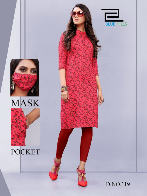 Anushka Vol 1 Blue Hills Branded Straight Cut Kurtis Manufacturer Wholesaler