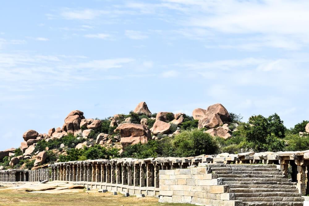 hampi temple images stone arcade of vitthala temple.jpg