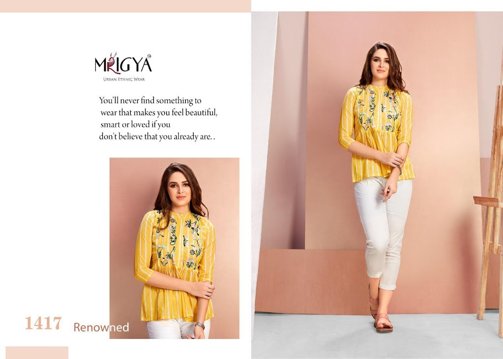 Flora Vol 4 Mrigya Designer Short Tops Manufacturer Wholesaler