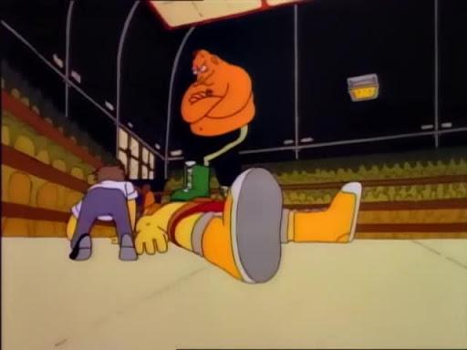 Los Simpsons 2x08 Bart el temerario