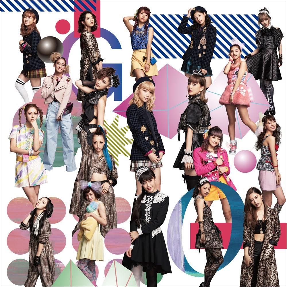 "Capa do single ""Go! Go! Let's Go!"" – CD Only Edition."