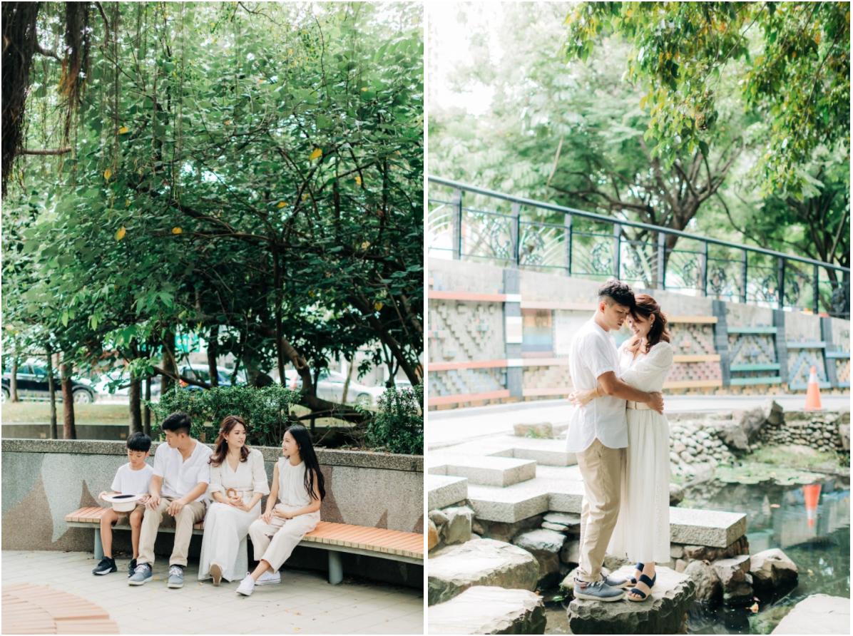 國美館美式家庭寫真 | Jan's Family | 戶外全家福 - 家庭照