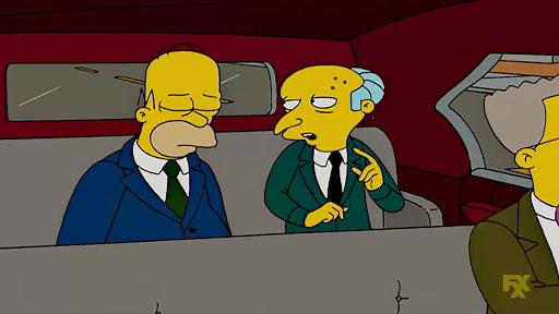 Los Simpsons 19x01 Le gusta volar y se nota