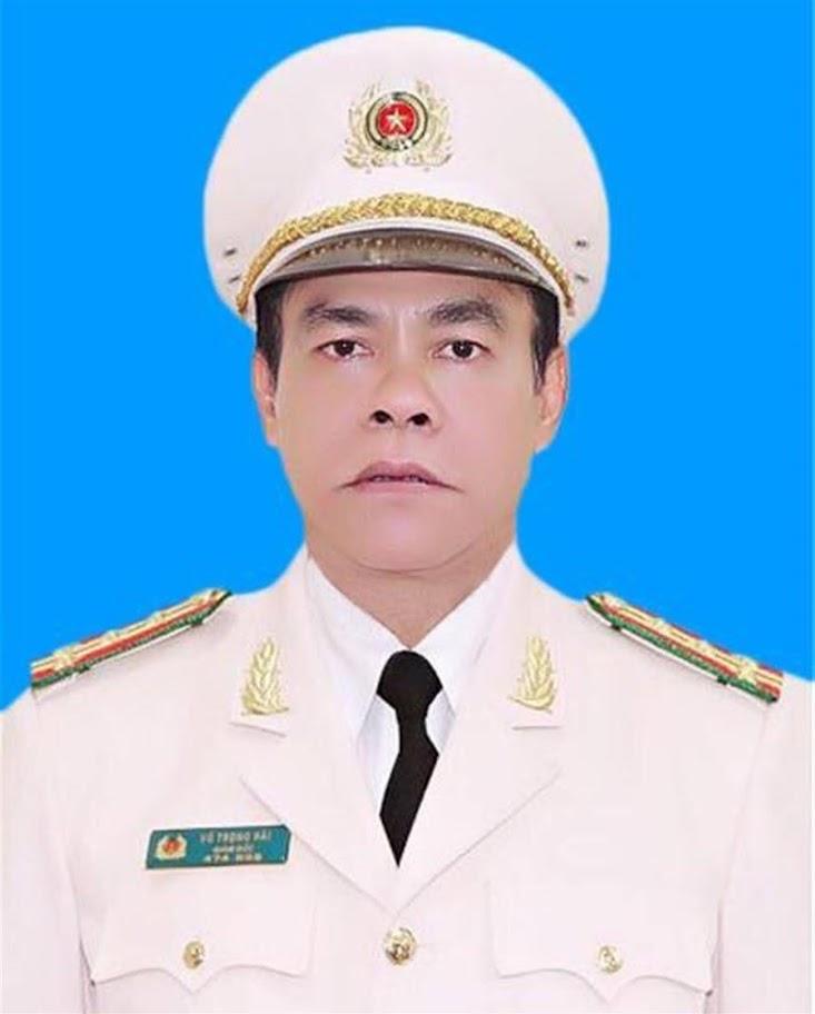 Đồng chí Đại tá Võ Trọng Hải,  Uỷ viên Ban Thường vụ Tỉnh uỷ,  Bí thư Đảng uỷ, Giám đốc Công an tỉnh
