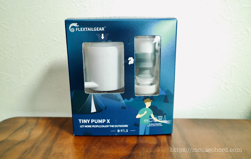 TINY PUMP X購入Review