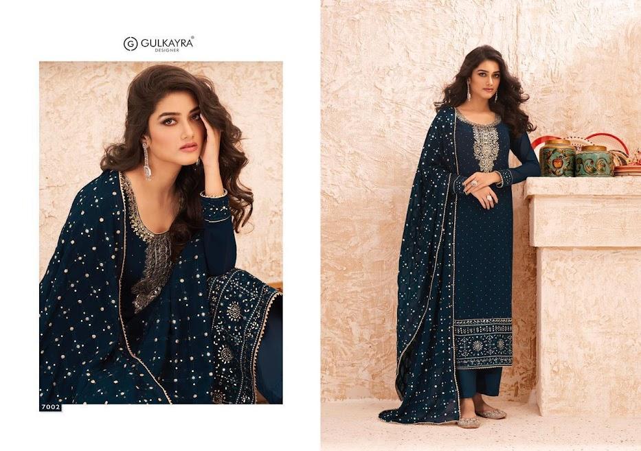 Gulkayra Designer Nazmin Pant Style Suits Catalog Lowest Price